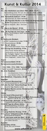 Jahresprogramm